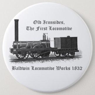 Baldwin Locomotive Works ,Old Ironsides 1832 Button
