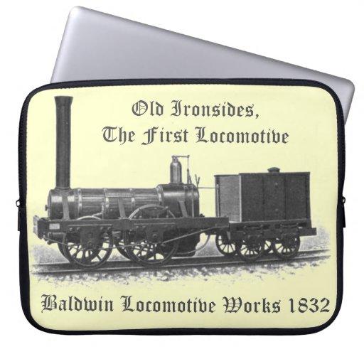 Baldwin Locomotive Works ,Old Ironsides 1832 Laptop Sleeve
