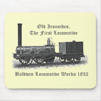 Baldwin Locomotive Works ,Old Ironsides 1832 Mousepad