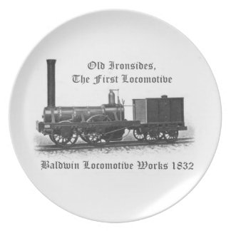 Baldwin Locomotive Works, Old Ironsides 1832 Plate