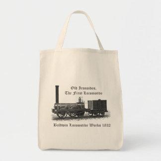 Baldwin Locomotive Works ,Old Ironsides 1832 Tote Bag