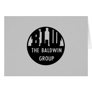 Baldwin Locomotive Works Railroad Locomotives Card