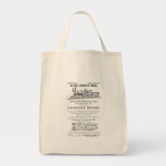 Baldwin Locomotive Works Railway Locomotives Tote Bag