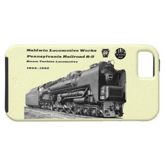 Baldwin Locomotive Works S-2 PRR Steam Turbine iPhone 5 Cases