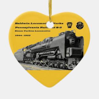 Baldwin Locomotive Works S-2 PRR Steam Turbine Ceramic Ornament