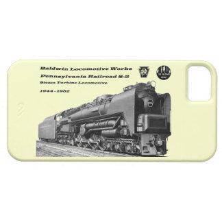 Baldwin Locomotive Works S-2 PRR Steam Turbine iPhone SE/5/5s Case