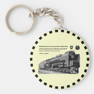 Baldwin Locomotive Works S-2 PRR Steam Turbine Keychain