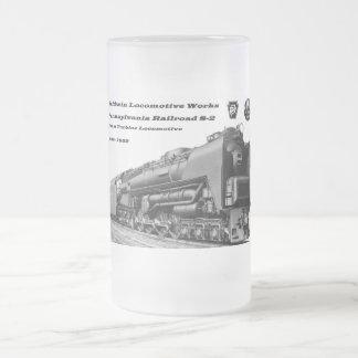 Baldwin Locomotive Works S-2 PRR Steam Turbine Beer Mugs
