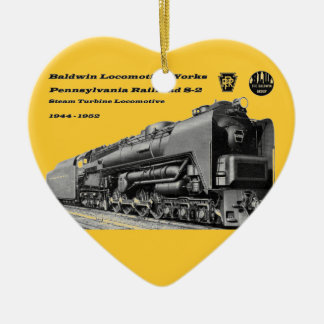 Baldwin Locomotive Works S-2 PRR Steam Turbine Christmas Ornaments