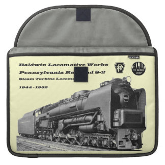 Baldwin Locomotive Works S-2 PRR Steam Turbine Sleeve For MacBook Pro