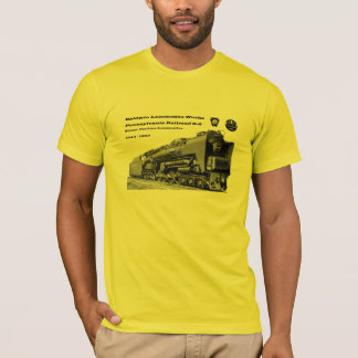 Baldwin Locomotive Works S-2 PRR Steam Turbine T-Shirt