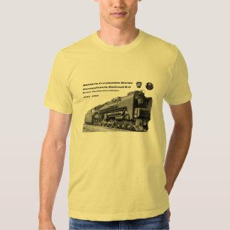 Baldwin Locomotive Works S-2 PRR Steam Turbine Tee Shirt