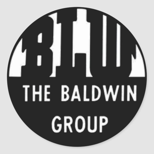 Baldwin Locomotive Works Round Sticker