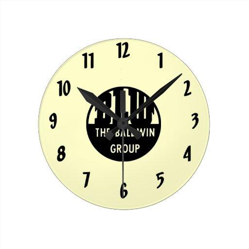 Baldwin Locomotive Works Wall Clock