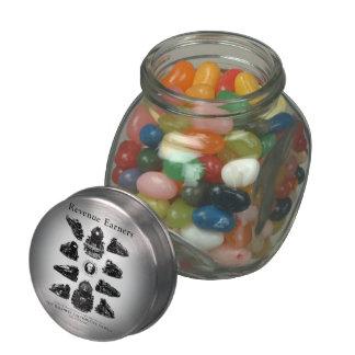 Baldwin Locomotives, Revenue Earners Jelly Belly™ Glass Candy Jars