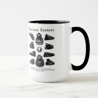 Baldwin Locomotives,Revenue Earners Mug