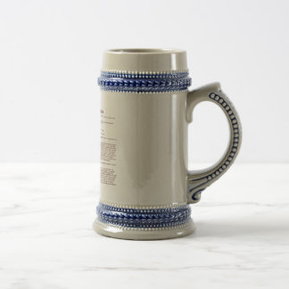 Baldwin (meaning) beer stein