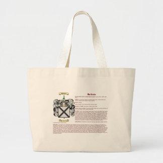 Baldwin (meaning) large tote bag