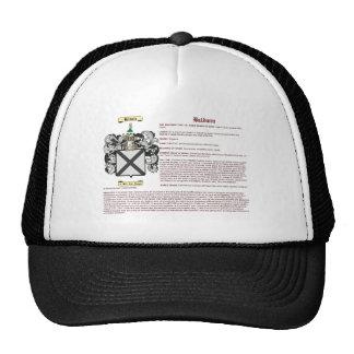Baldwin (meaning) trucker hat