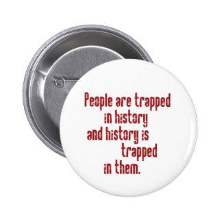 Baldwin on History 2 Inch Round Button