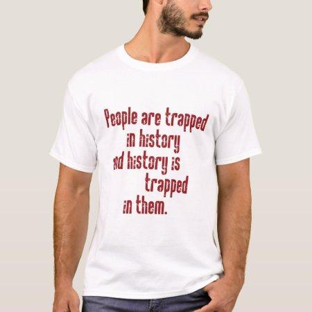 Baldwin on History T-Shirt