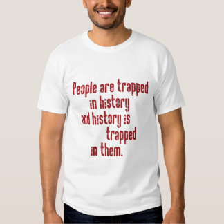 Baldwin on History Tee Shirt