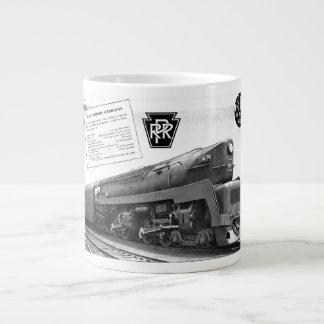Baldwin-Pennsylvania Railroad T-1 Steam Locomotive Giant Coffee Mug