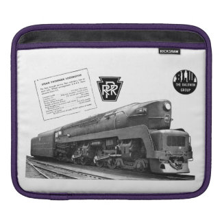 Baldwin-Pennsylvania Railroad T-1 Steam Locomotive iPad Sleeve
