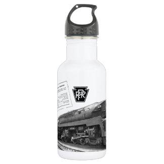 Baldwin-Pennsylvania Railroad T-1 Steam Locomotive Stainless Steel Water Bottle
