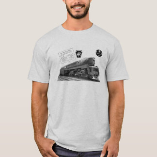 Baldwin-Pennsylvania Railroad T-1 Steam Locomotive T-Shirt