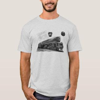 Baldwin-Pennsylvania Railroad T-1 Steam Locomotive T-Shirt