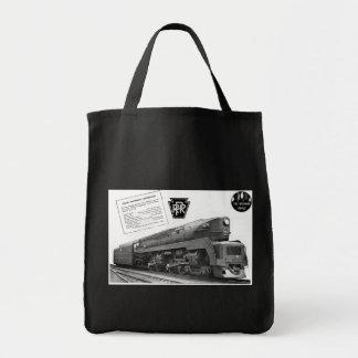 Baldwin-Pennsylvania Railroad T-1 Steam Locomotive Tote Bag