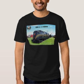 Baldwin - PRR  Locomotive GG-1 #4800 Tshirt