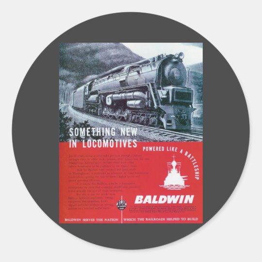Baldwin-PRR S-2 Steam Turbine Sticker