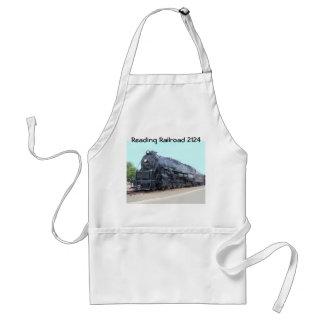 Baldwin- Reading Railroad Locomotive 2124 Adult Apron