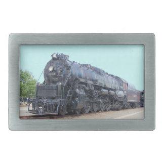 Baldwin- Reading Railroad Locomotive 2124 Rectangular Belt Buckles