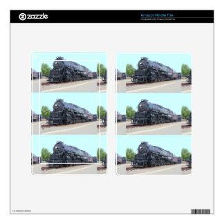 Baldwin- Reading Railroad Locomotive 2124 Kindle Fire Decals