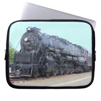 Baldwin- Reading Railroad Locomotive 2124 Laptop Computer Sleeves