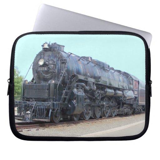 Baldwin- Reading Railroad Locomotive 2124 Computer Sleeves