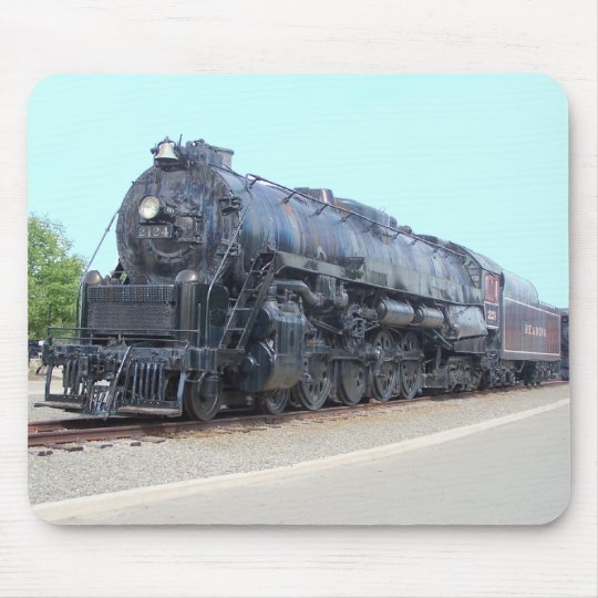 Baldwin- Reading Railroad Locomotive 2124 Mouse Pad