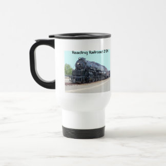 Baldwin- Reading Railroad Locomotive 2124 15 Oz Stainless Steel Travel Mug
