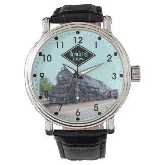 Baldwin- Reading Railroad Locomotive 2124 Wristwatch
