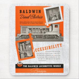 Baldwin Serves The Nation 1948 Mousepad