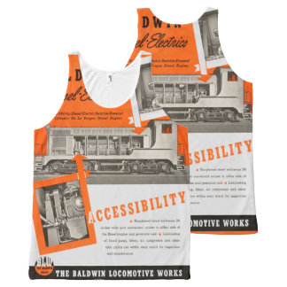 Baldwin Serves The Nation All-Over-Print Tank Top