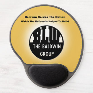 Baldwin Serves The Nation Gel MousePad Gel Mouse Pad
