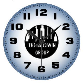 Baldwin Serves The Nation Wall Clock