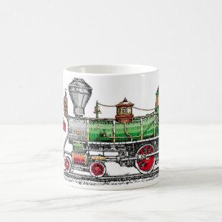 Baldwin Steam Engine Classic White Coffee Mug
