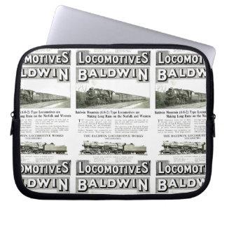 Baldwin Steam Locomotive Mountain Type in 1924 Computer Sleeve