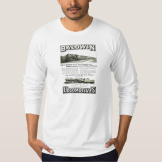Baldwin Steam Locomotive Mountain Type in 1924 T-Shirt