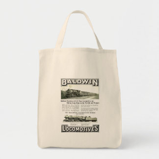 Baldwin Steam Locomotive Mountain Type in 1924 Tote Bag